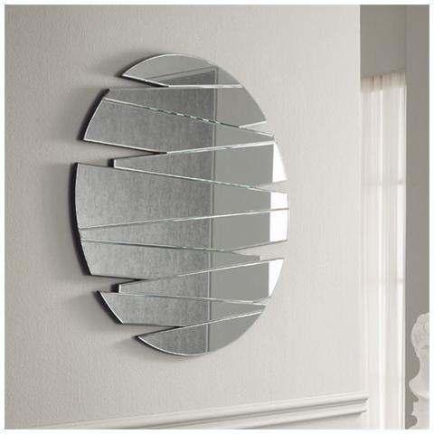 Specchi A Parete Moderni.Stones Specchio Rotondo Da Parete Dal Design Moderno Mod Sp021