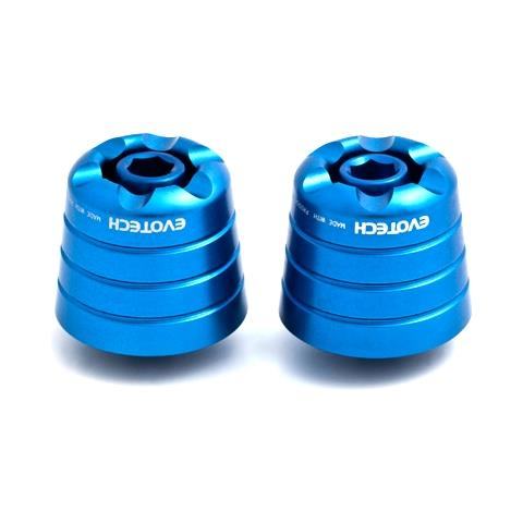 Evotech Contrappesi stabilizzatori manubrio Blu
