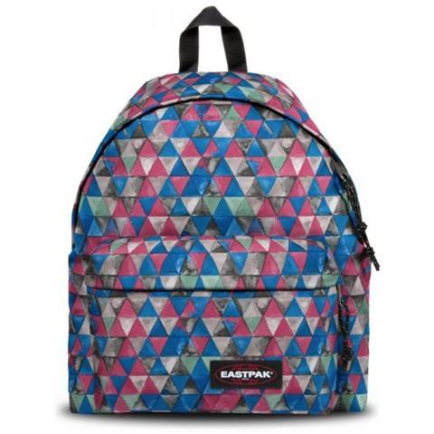 e07e7796ad EASTPAK - Zaino Padded Pak'r Ek620 - Triangoli Multicolor Fucsia - ePRICE
