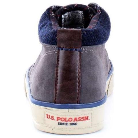 U.S. POLO ASSN. - Sneakers Uomo Galan4143w8s1 Pelle Grigio Taglia 45 -  ePRICE 315120a13c9