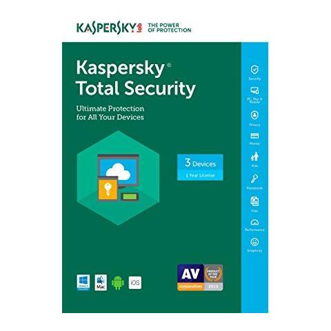 kaspersky total security 2018 version