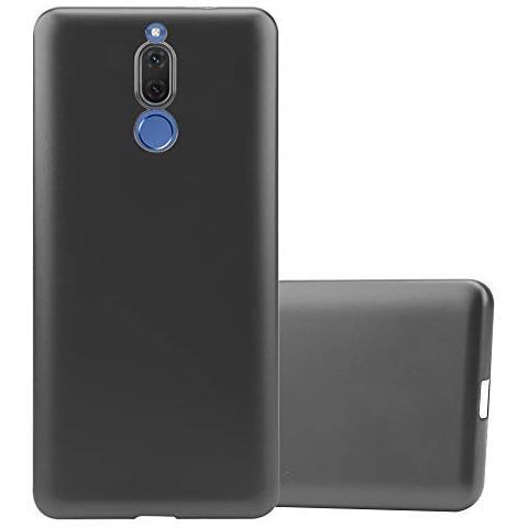 Cadorabo Custodia Per Huawei Mate 10 Lite In Grigio Metallico - Morbida Cover Protettiva Sottile Di Silicone Tpu Con Bordo Protezione - Ultra Slim ...