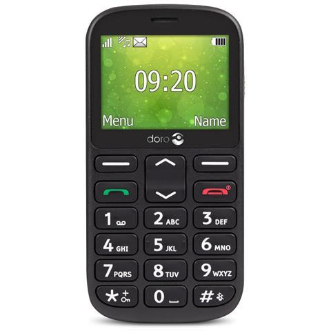 1361 Cellulare Display 2.4 +Slot Micro SD Fotocamera 2Mpx RadioFM e Bluetooth Nero -Tim Italia
