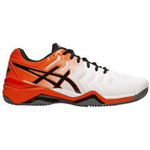 Asics Gel resolution 7 Clay 100 Scarpa Da Tennis Uomo Us 9
