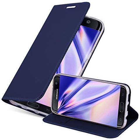 Custodia Portafoglio Stand Case per Samsung Galaxy S7 Edge - Viola