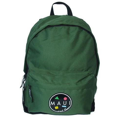 Nuovi Prodotti d00da 514db Maui Zaino Americano Scuola Tempo Libero in Tessuto con Chiusura a Zip Verde