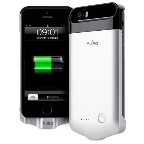 custodia con batteria iphone 5