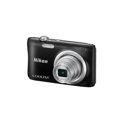 Coolpix A100 Nero Sensore CCD 20.1Mpx Zoom ottico 5x Display 2.7