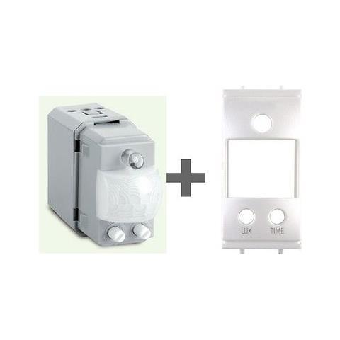 Sensori Crepuscolari Bticino.Perry Sensore Luce Incasso Movimento Comp Bticino Living Light Con Crepuscolare