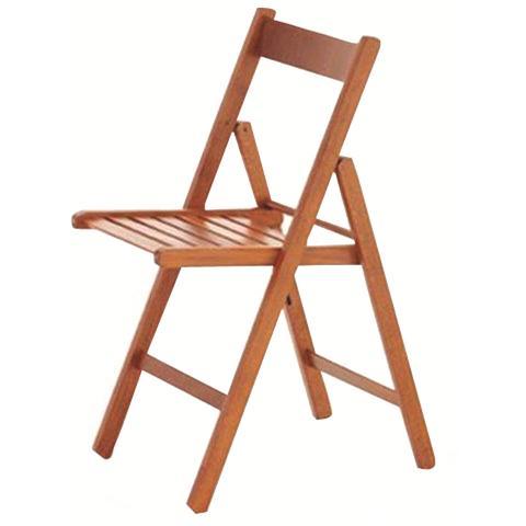 Sedie In Legno Ciliegio.Homegarden Sedia Pieghevole Legno Ciliegio Confezione 4 Pz Eprice