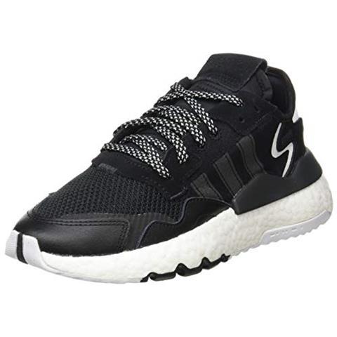 NEW BALANCE Adidas Nite Jogger J, Scarpe Da Ginnastica Unisex-bambini, Core Nero / core Nero / carbon, 37 1/3 Eu