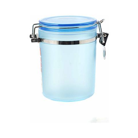 home - barattolo plastica azzurro frost 10x14 contenitori per