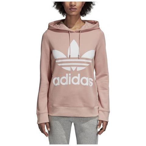38 Adidas Donna Felpa Trefoil Cappuccio Taglia Con Eprice Hoodie KJ3ulF15Tc