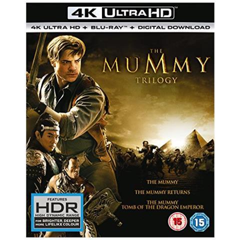 UNIVERSAL - The Mummy Trilogy 4k Uhd + Blu-ray + Digital Hd