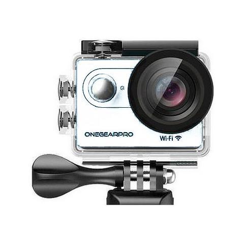 Action Cam SportCam Fun Full HD 12 Mpx Wi-Fi Impermeabile Colore Bianco
