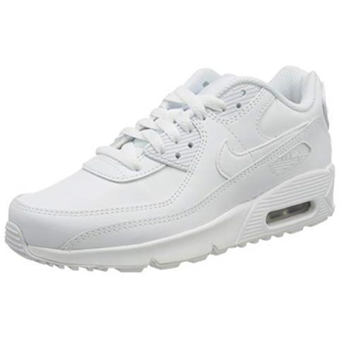 NIKE - Air Max 90 Ltr Big Kids' Shoe, Scarpe Da Corsa, Bianco ...