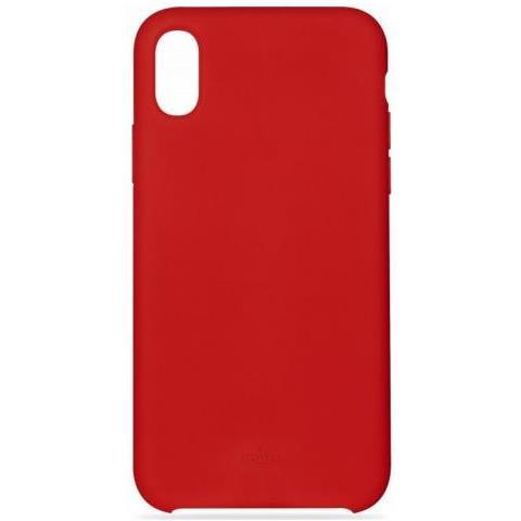PURO Cover iPhone X / XS Custodia Apple Smartphone colore Rosso
