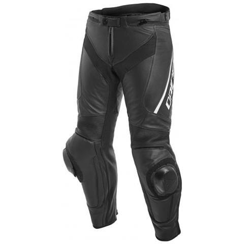 Nero Roleff Racewear Pantaloni Moto in Tessuto//Mesh M