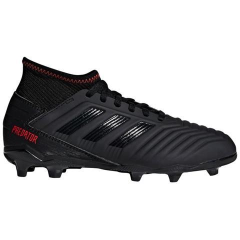 adidas Scarpe Calcio Ragazzo Adidas Predator 19.3 Fg Archetic Pack Taglia 35,5 Colore: Nero rosso