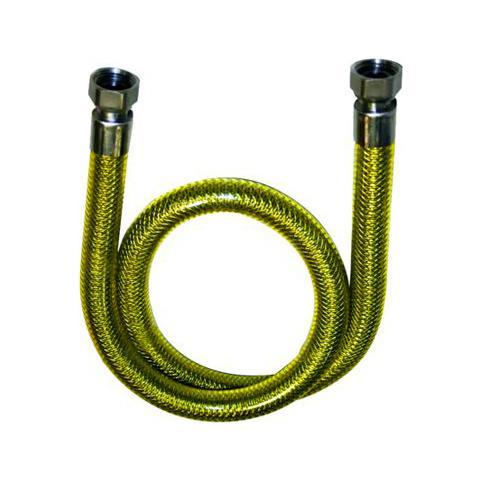 TUBO GAS INOX UNI EN 14800 F//F CM 150