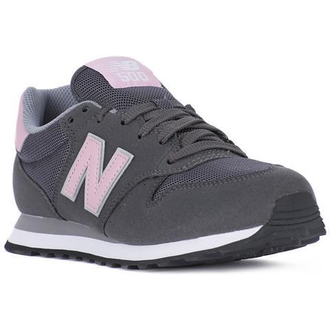 NEW BALANCE Sneakers New Balance 500 Donna Grigio-rosa