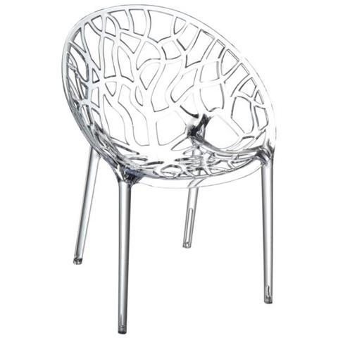 Sedie Trasparenti In Plastica.Mendler Sedia Cp208 Design Moderno 60x59x80cm Impilabile