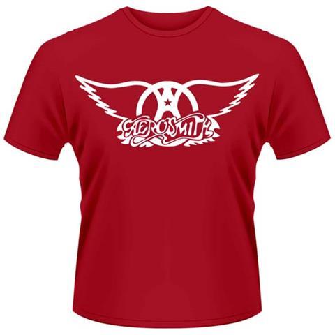 Aerosmith - Logo (T-Shirt Unisex Tg. XL)