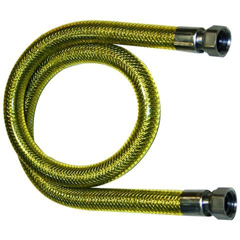 Universale Tubo Flessibile 2 Metri Per Gas Metano E Gpl Certificato Acciaio Inox Ff 1 2 Cucina Eprice