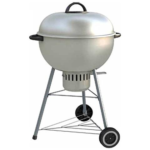 check out 35bb4 82a64 Dolcevita Barbecue A Carbonella In Acciaio Colorato Made In Italy