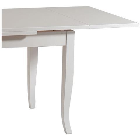 Gambe A Sciabola Per Tavoli.Argonauta Tavolo In Legno Allungabile Bianco Gambe A Sciabola