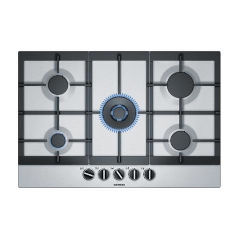 SIEMENS - Piano Cottura EC7A5QB90 a Gas 5 Fuochi Gas Colore Inox ...