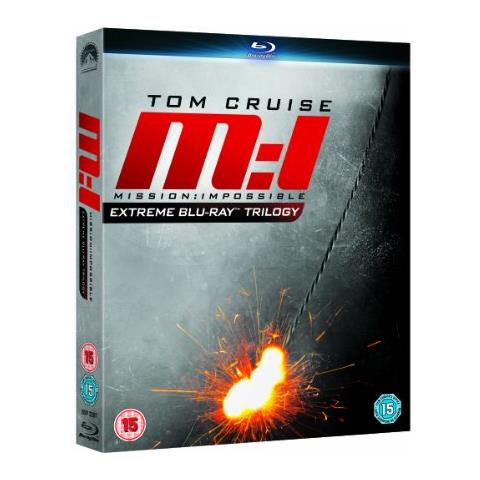 PARAMOUNT Mission Impossible Ultimate Trilogy Blu-ray
