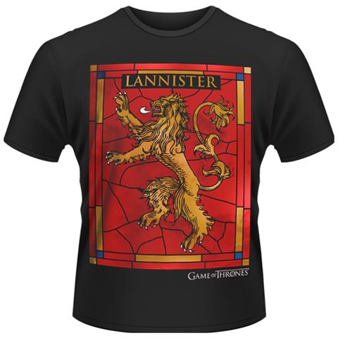 Game Of Thrones - House Lannister (T-Shirt Unisex Tg. L)