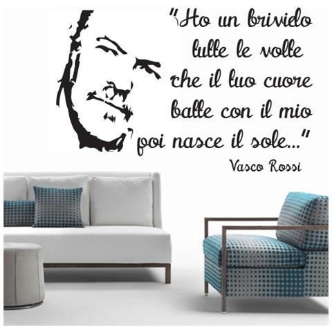 adesivi murali  stampepersonalizzate.com - Adesivi Murali - Vasco Rossi E…ascolto ...