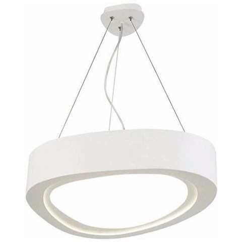 Lampade Sospensione Per Ufficio.Homemania Lampada A Sospensione Meriva Bianco Design Moderno