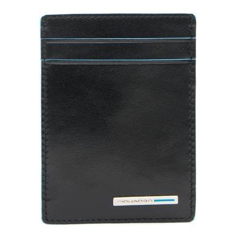 88884d621b PIQUADRO - Porta Card Blue Square Porta Carte Di Credito Nero Pp3893b2 / n  - ePRICE