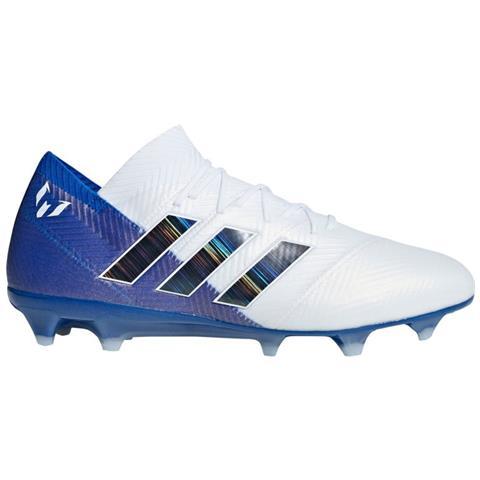 adidas Scarpe Calcio Adidas Nemeziz Messi 18.1 Fg Team Mode Pack Taglia 42 Colore: Bianco blu