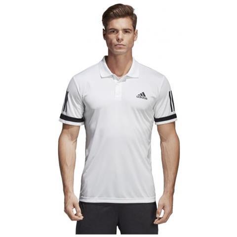 8daf28061def2a adidas - Man Club 3 Stripes Polo Da Tennis Per Uomo Taglia Xs - ePRICE