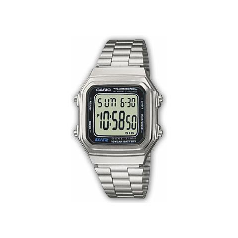 CASIO A178WEA,1AES Orologio da polso Unisex Elettronico orologio