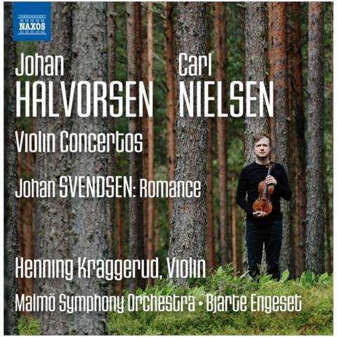 Naxos - Halvorsen & Nielsen - Violin Concertos - Henning Kraggerud - ePRICE