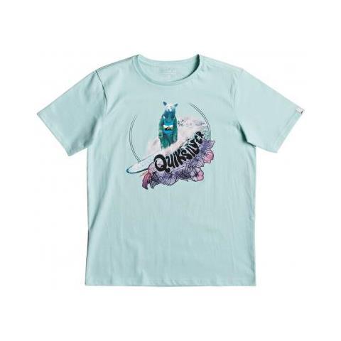 Quiksilver Da T Maglietta Classic Shirt Tee Bear Bfd0 Log Ss A3Rq5L4j