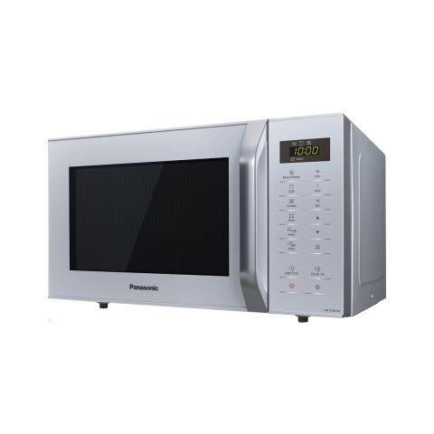 Forno Microonde Combinato 23 Litri Grill 800 W Argento Panasonic NN-K36HMMEPG