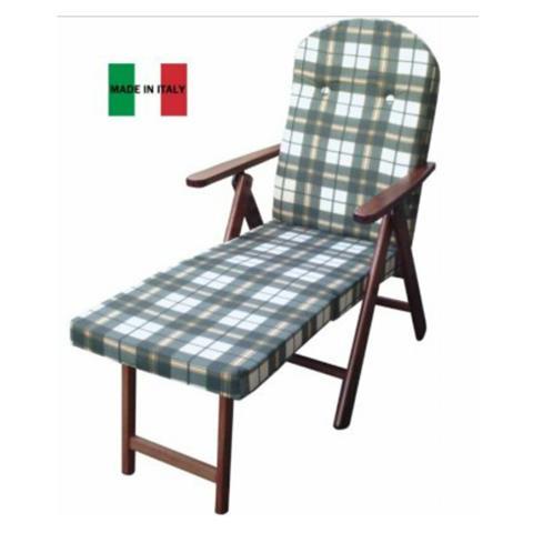 Sedie A Sdraio In Legno.Maslegno Poltrona Sedia Sdraio Amalfi In Legno Reclinabile 4