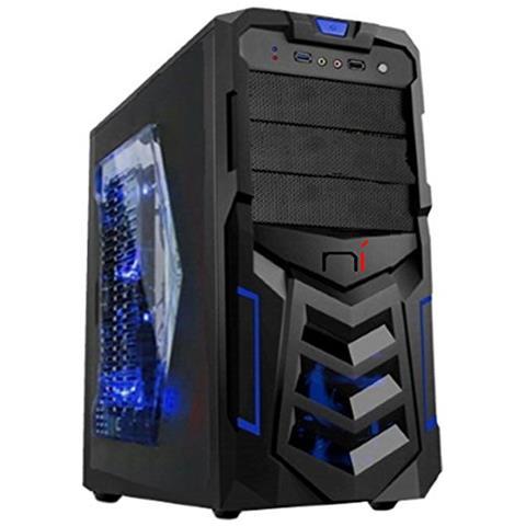 computer gaming economico assemblato  NONSOLOINFORMATICA - Lighting Bolt Pc Gaming Assemblato Completo ...