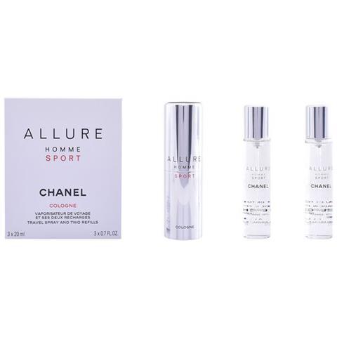 27def99dcb CHANEL - Profumo Uomo Allure Homme Sport Cologne Chanel Edc (3 Pcs ...