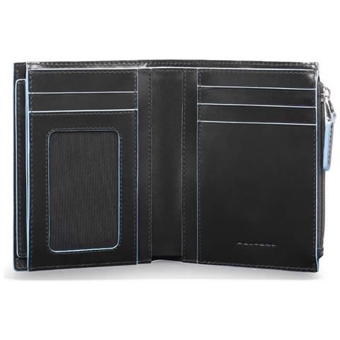 248f6b6b30 PIQUADRO - - Portafoglio Uomo Verticale Con Portadocumenti Estrabile,  Portamonete E Porta Carte Di Credito Blue Square - Pu4519b2r - ePRICE