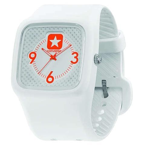 Converse Clocked Perfed Orologio da polso Unisex Quarzo (batteria) Bianco
