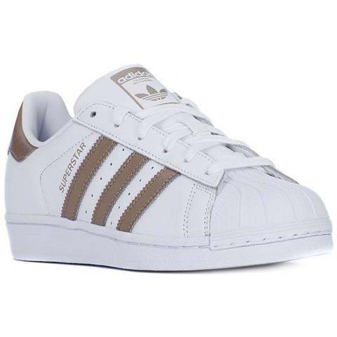 huge discount 71381 7eadd Adidas Bianco Scarpe 40 Cg5463 W Taglia Superstar Colore Eprice rxrwqvd0X