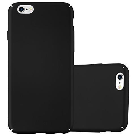 Cadorabo Custodia Per Apple Iphone 6 Plus / iphone 6s Plus In Nero Metallo - Rigida Cover Protettiva Sottile Con Bordo Protezione - Back Hard Case ...