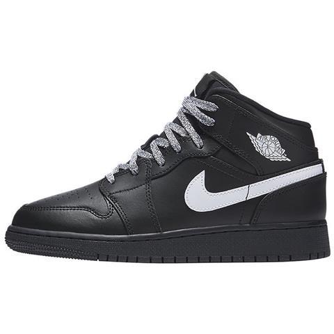 Colore Nap0wutx Air Nero 5 Scarpe 554725049 37 Taglia Nike Jordan 1 Mid x1zw8qOU